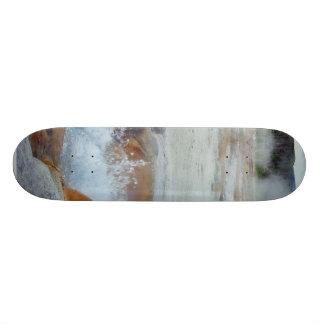 Geysers Steam Boiling Yellowstone Skate Board Decks