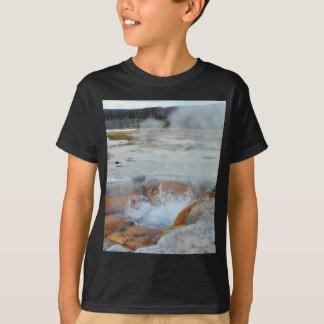 Geysers Steam Boiling Yellowstone T-Shirt
