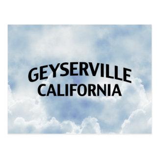 Geyserville California Postales