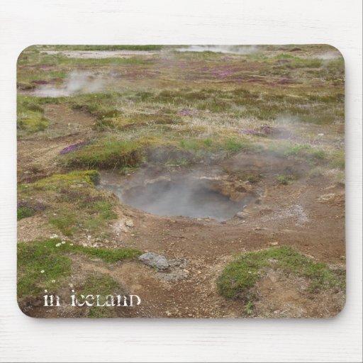 Geysir, Iceland Mouse Pad