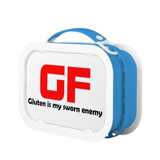 GF Lunch Box - Funny Gluten Free Gift | Zazzle.com