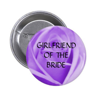 GF of the BRIDE - lavender rose button