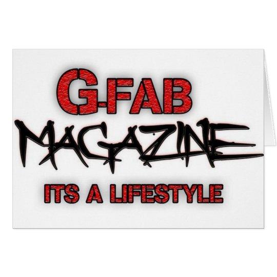 Gfab Magazine Card