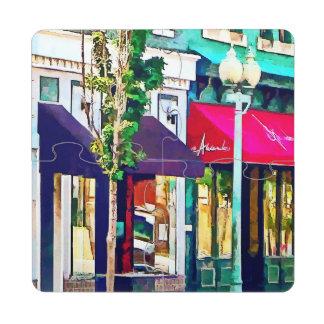 Gft_RoanokeVAStreetWithRestaurant.jpg Posavasos De Puzzle