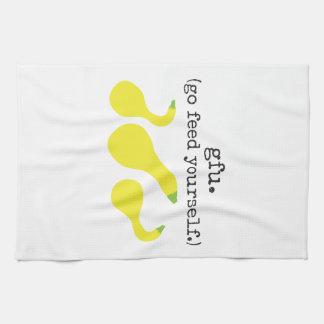 gfu. /(va la alimentación usted mismo.) calabaza toallas