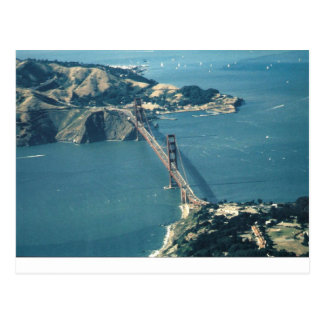 GG Bridge Marin Headlands Postcard