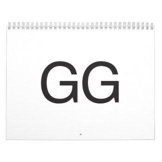 GG WALL CALENDARS