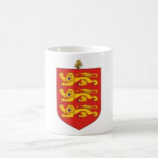 GG del escudo de armas de Guernesey Taza Clásica
