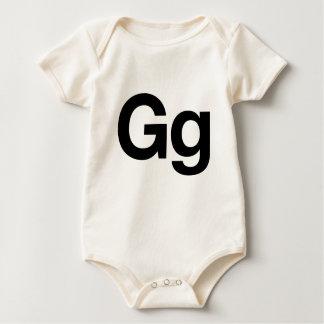 Gg Helvética Body Para Bebé