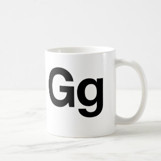 Gg Helvética Tazas De Café