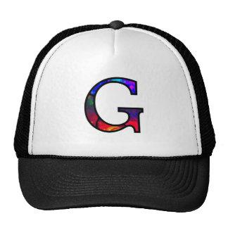 Gg Illuminated Monogram hat
