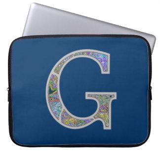 Gg Illuminated Monogram Computer Sleeves