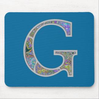 Gg Illuminated Monogram Mouse Pad
