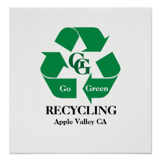 GG Recycling Poster