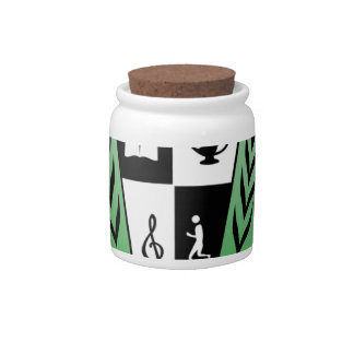 GGMSS 60th Alumni Reunion Crest Products Candy Jars