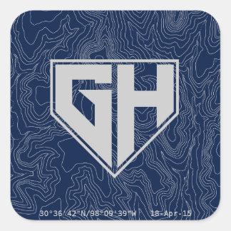 GH: 15 pegatinas Pegatina Cuadrada