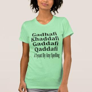 Ghadafi Khaddfi Qaddafi T-shirt