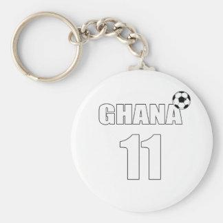 Ghana 11 goal scorers football fans soccer gifts basic round button keychain
