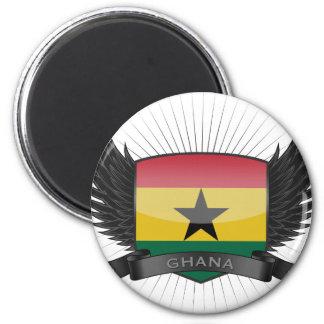 GHANA 2 INCH ROUND MAGNET
