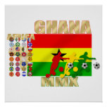 Ghana 32 country qualifying teams flag gifts posters