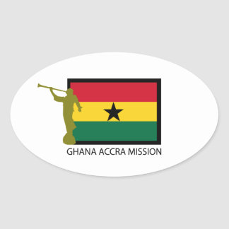 GHANA ACCRA MISSION LDS CTR STICKERS
