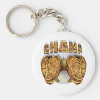 Ghana Ancient soccer football Kofi KolKalli gifts Basic Round Button Keychain
