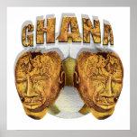 Ghana Ancient soccer football Kofi KolKalli gifts Print