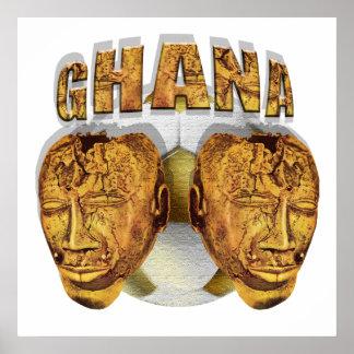 Ghana Ancient soccer football Kofi KolKalli gifts Poster