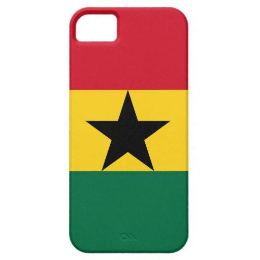 Ghana - bandera ghanesa iPhone 5 fundas
