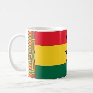 Ghana Black Star Flag Coffee Mug