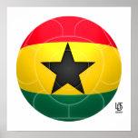 Ghana - Black Stars Football Poster
