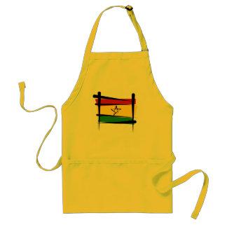 Ghana Brush Flag Aprons