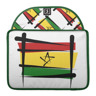 Ghana Brush Flag MacBook Pro Sleeve