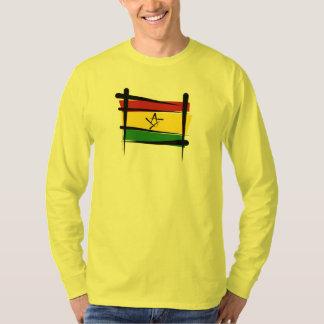 Ghana Brush Flag T-Shirt