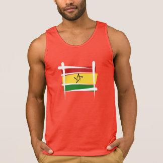 Ghana Brush Flag Tshirt