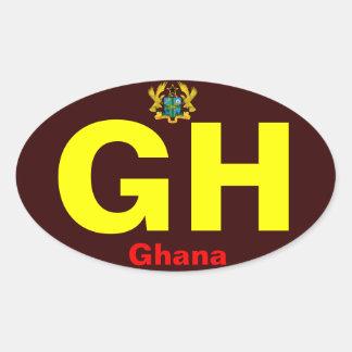 GHANA*- Bumper Sticker European Style