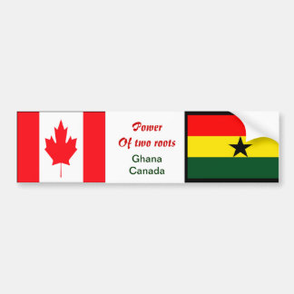 ghana canadian bumper stickers