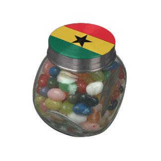 Ghana Glass Jars