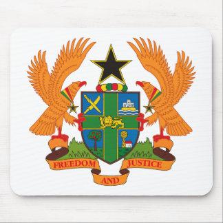 Ghana Coat of Arms Mousepad