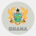 Ghana Coat of Arms Sticker