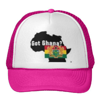 Ghana Coat of arms T-shirt And Etc Trucker Hat