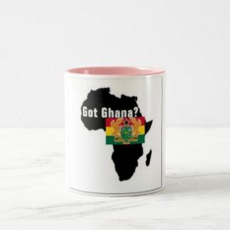 Ghana Coat of arms T-shirt And Etc Two-Tone Coffee Mug