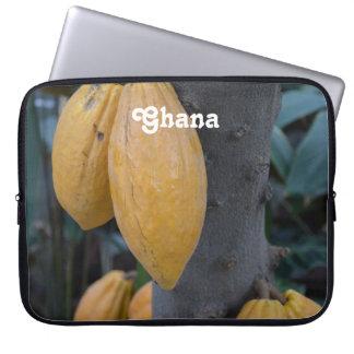 Ghana Cocoa Computer Sleeves