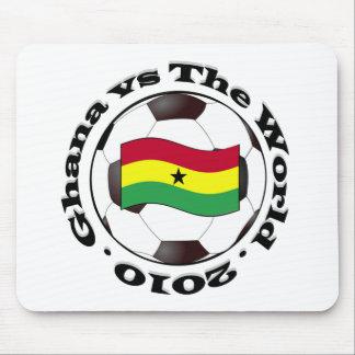 Ghana contra el mundo mouse pad