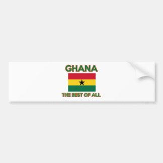 Ghana Design Bumper Sticker