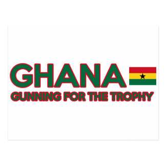 Ghana design postcard