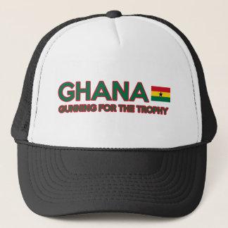 Ghana design trucker hat