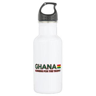 Ghana design water bottle
