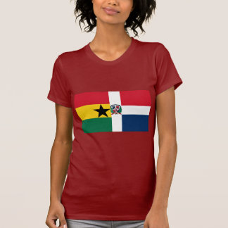 Ghana & Dominican Republic Flag Tee Shirts