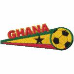 Ghana Embroidered Mens Polo Shirt